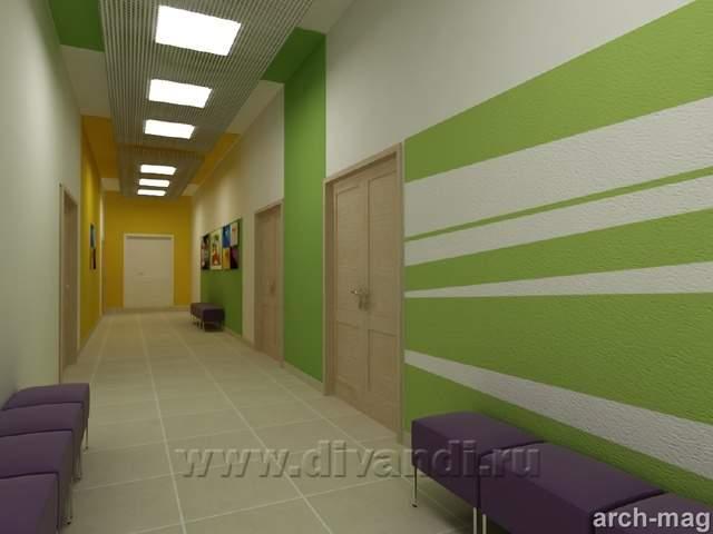 Дизайн интерьеров колледжи