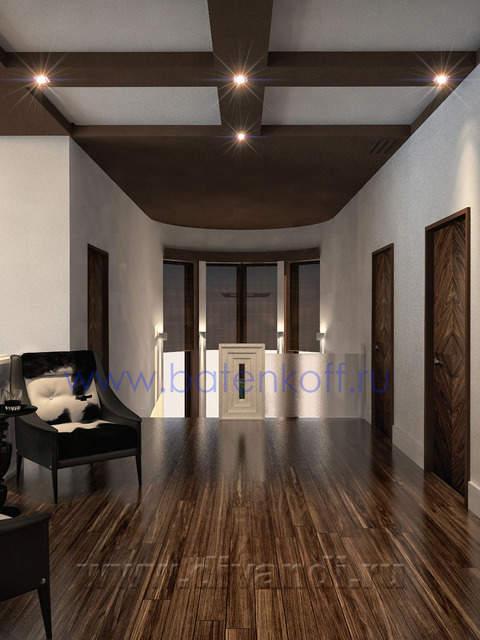 Коттедж в классическом стиле - Портфолио дизайнеров интерьера.
