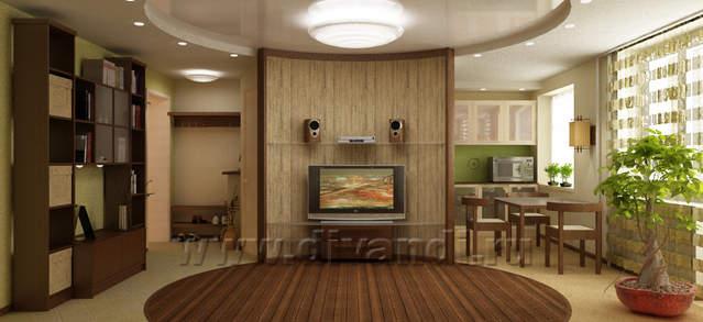 Дизайны переделанных 2 квартир