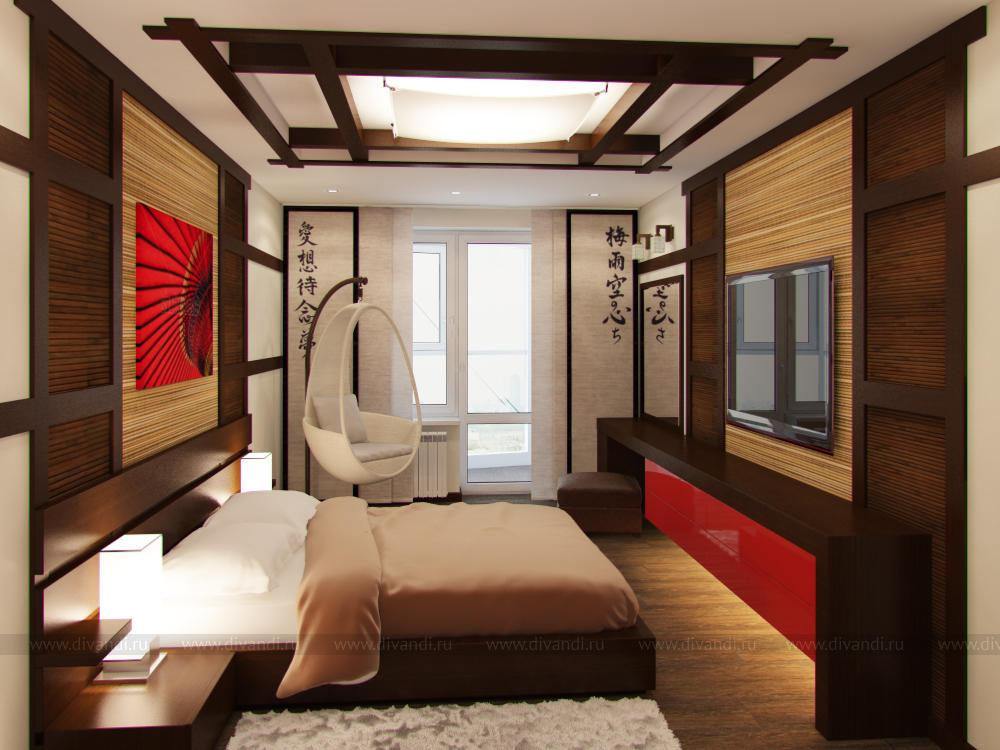 переехала оформление комнаты в японском стиле фото почему-то