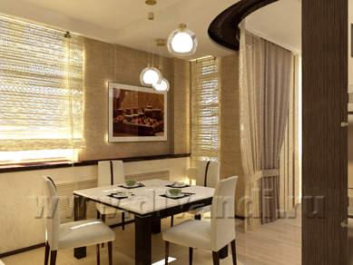Дизайн интерьера: Кухня.  Этно-уют.