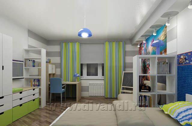 Дизайн комнат с мебелью
