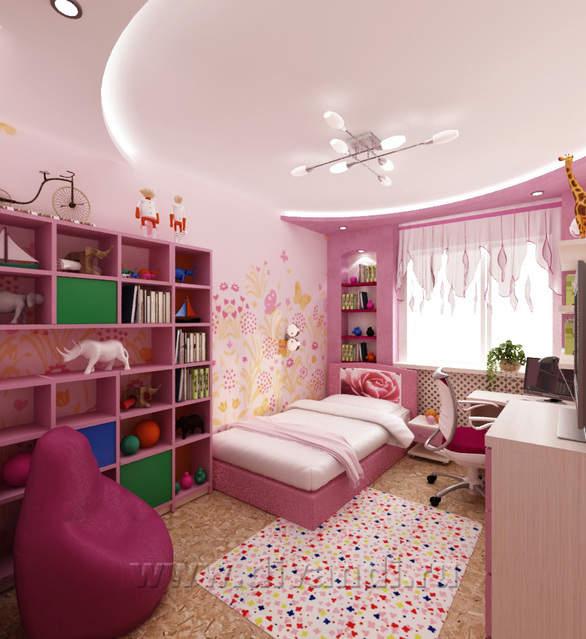 Дизайн детской 12 кв м
