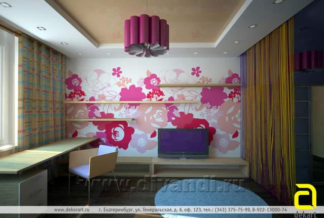 детская - дизайн частных интерьеров, дизайн, дизайнер, дизайн интерьера...