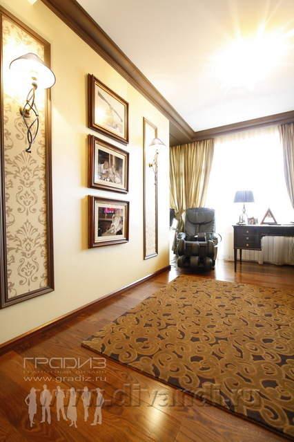 Квартира в стиле арт-нуво, Екатеринбург, Градиз, Дизайн.