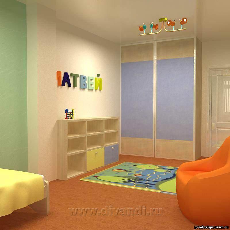 Детская для мальчика комната дизайн