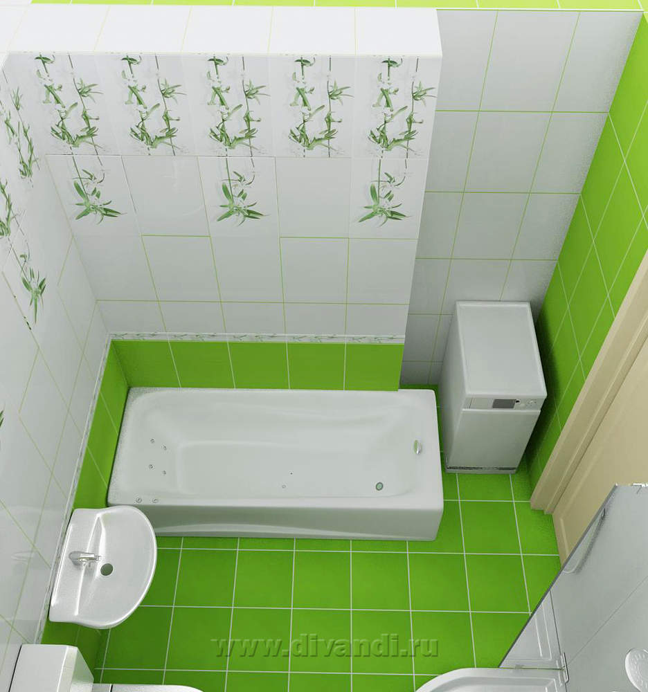 дизайн ванной комнаты с зеленой плиткой фото дизайн