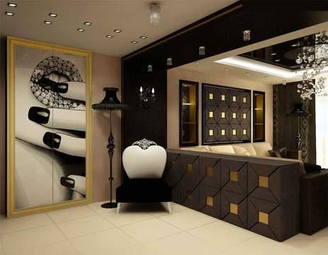 Квартира в стиле ар деко