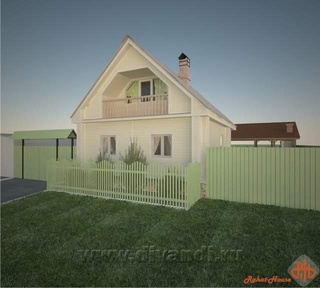 Дизайн дома в деревне своими руками