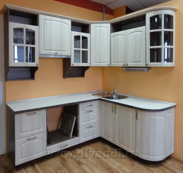 Кухня угловая готовая купить кухню гламур