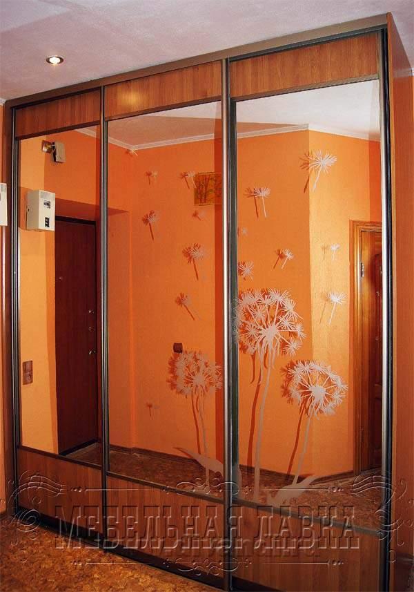 "Шкаф купе ""с пескоструйным рисунком"" (12000 р) - диванди."
