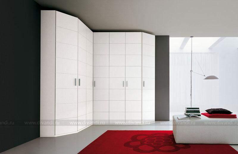 Белый угловой шкаф, особенности размещения и ухода за мебель.