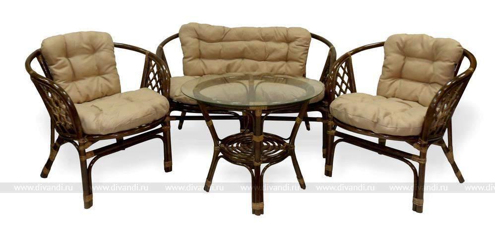 Мебель из ротанга плетеная ротанговая мебель из Индонезии