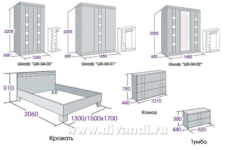 Rontechi мебель для спальни мебельград..