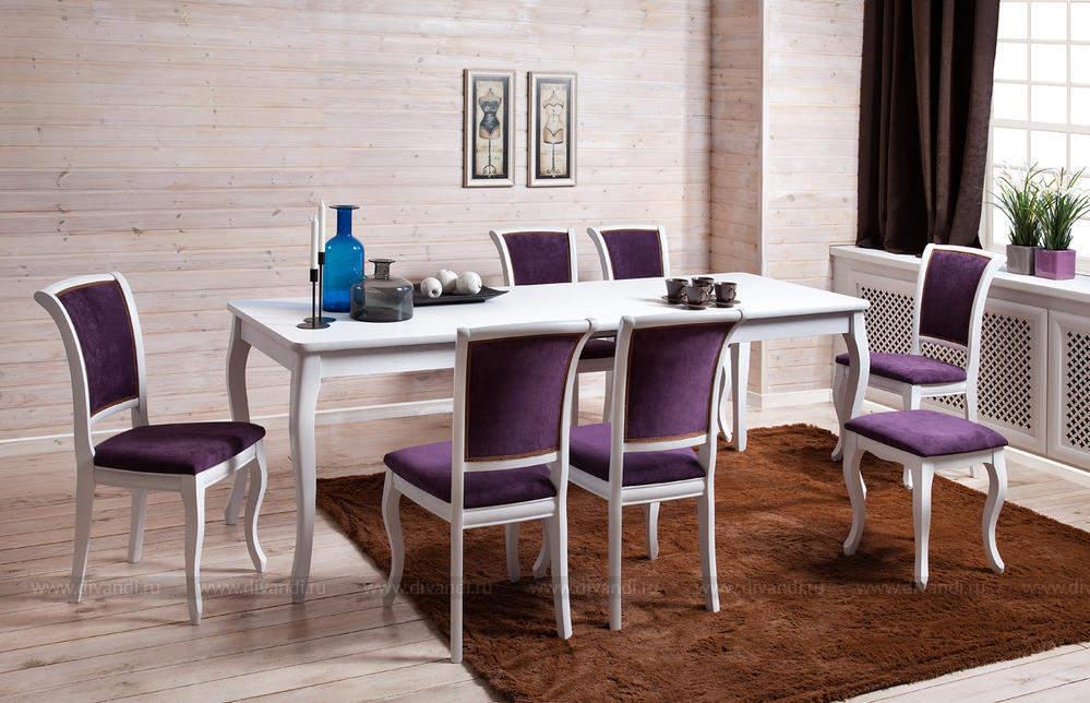 Стол Alicante + стулья Milano, купить, интерет-магазин, отзывы, подробное описание, цена. Стол Alicante, размер 130