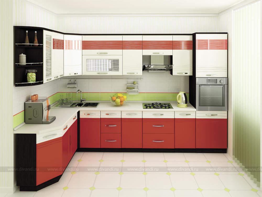 Кухни угловые каталог фото