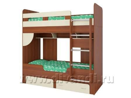 Двухъярусная кровать твистер