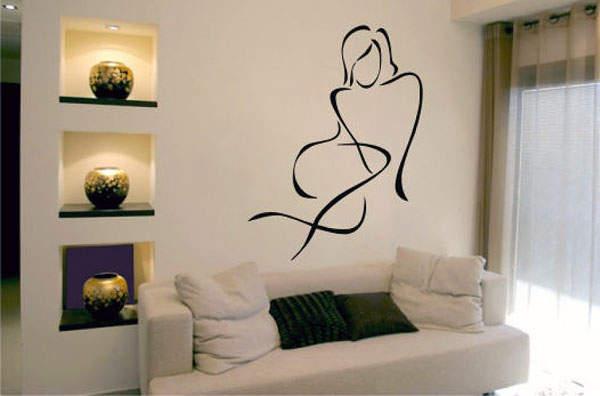 Красивые декоры на стенах